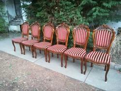 Beautiful baroque chairs 6pcs