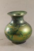 Zsolnay labrador eosin shield seal vase 889
