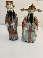 Chinese porcelain sages