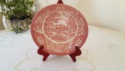 English faience, ironstone eit, large garnished bowl