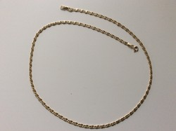 Action! 14K gold necklace with snail pattern eyes