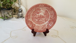 English faience ironstone, compote bowl