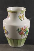 Herend Victoria patterned polygonal vase 899