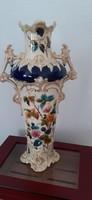 Monumental 47 cm high magnificent Art Nouveau vase