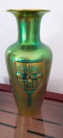 Zsolnay ganz eosin vase 1970s