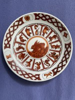 Chinese horoscope porcelain plate.