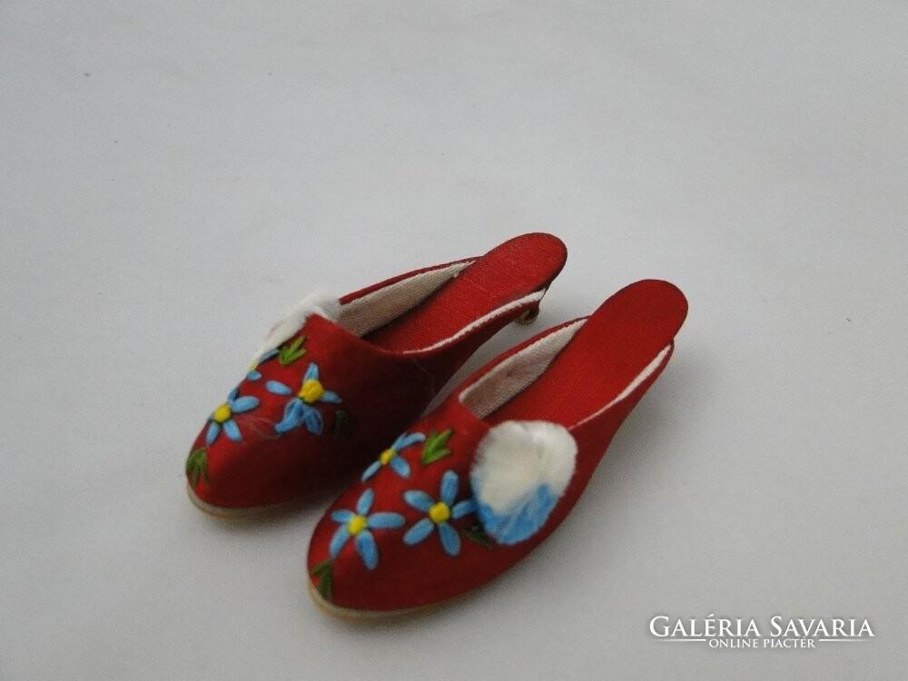 bbb35b757d 7397 Régi mini szegedi papucs cipész mestermunka - Gardrób   Galéria ...