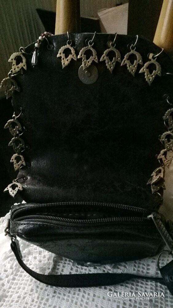 Régi tiszta bőr kézműves táska - Gardrób  91680113c7