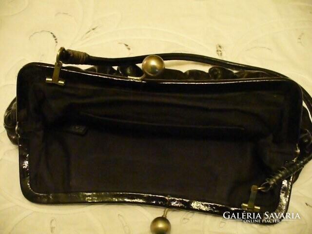 Fekete lakk alkalmi táska - Wardrobe  ff37fb0dc7