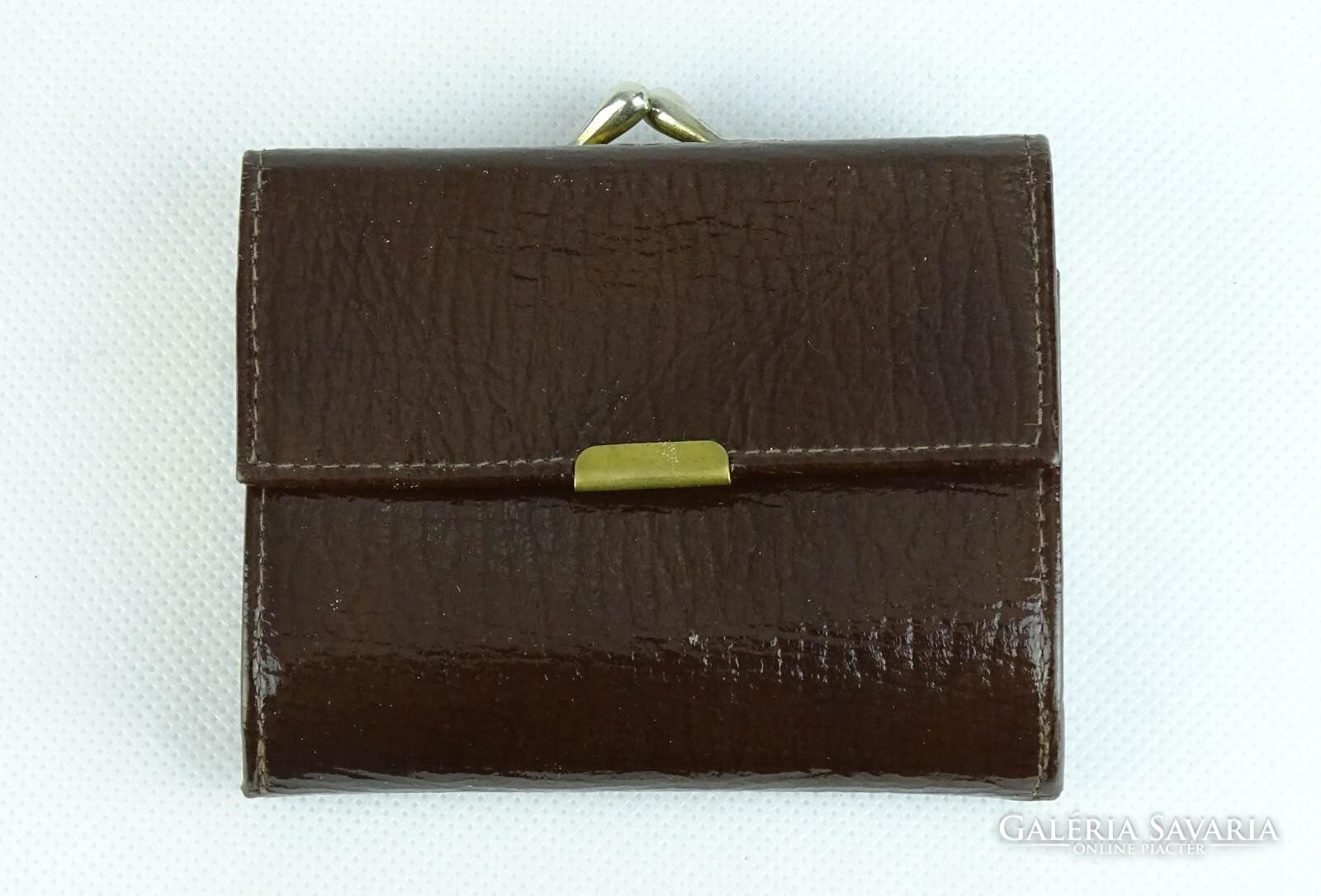 0K283 Szép barna női tárca pénztárca - Otthon 5c539888bb