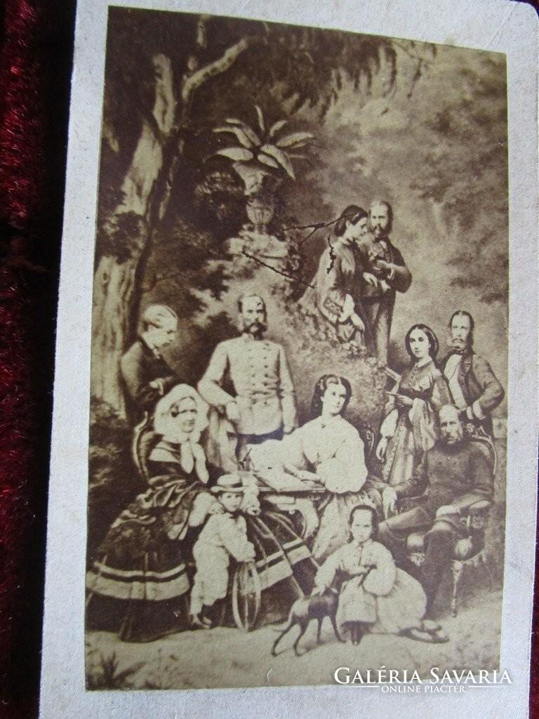 Ferenc József ERZSÉBET KIRÁLYNÉ SZISZI RUDOLF fotó 1884 ... 38015ab71e