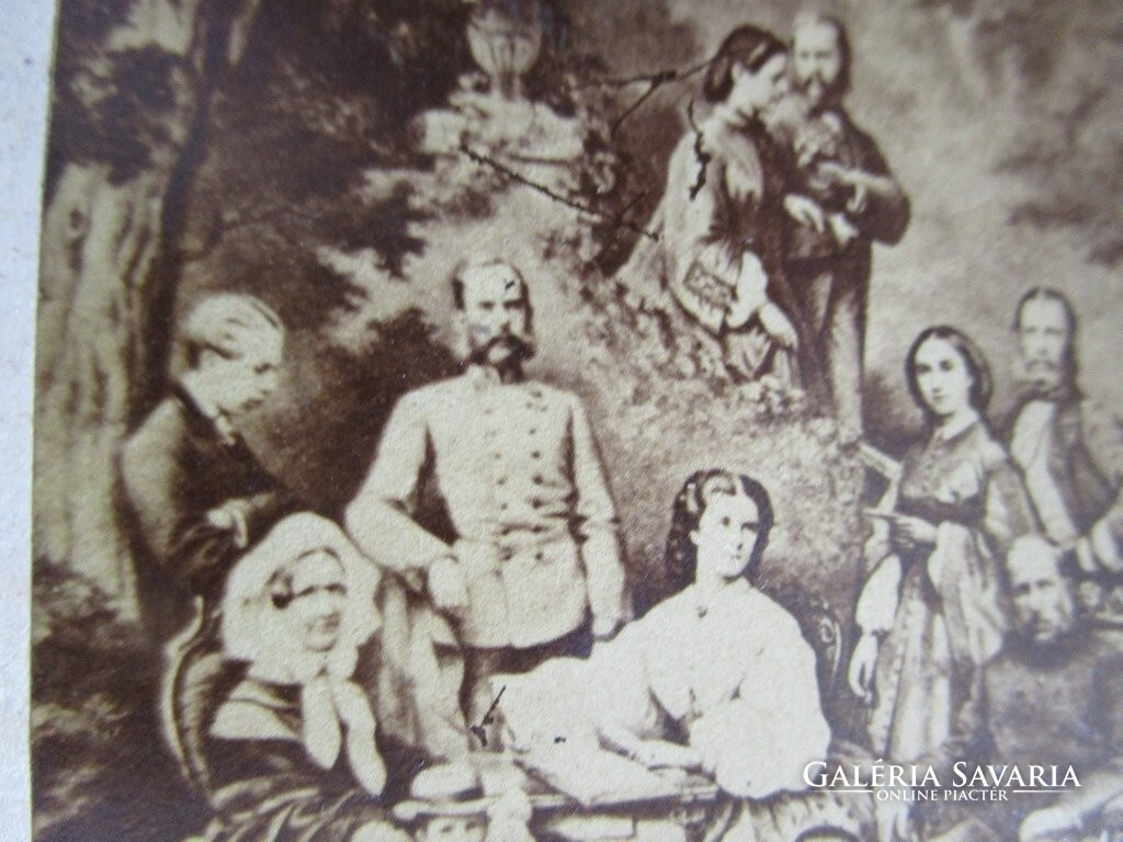 Ferenc József ERZSÉBET KIRÁLYNÉ SZISZI RUDOLF fotó 1884 - Szőnyeg ... 4abfbb079a