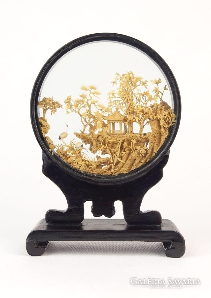 0Q021 Antik üvegbe zárt kínai SAN YOU asztali dísz - Statues ... 058d214b87