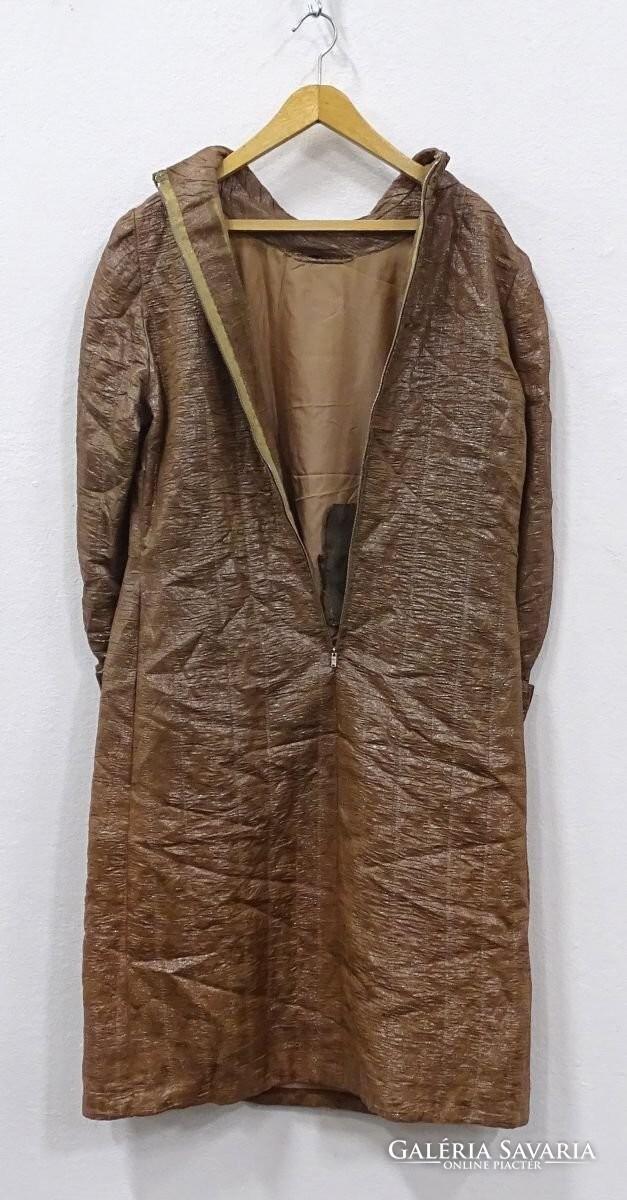 0V117 Retro bronzbarna női ruha - Wardrobe  f09b576444